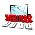 Ein Webinar / Seminar das über das World Wide Web gehalten wird